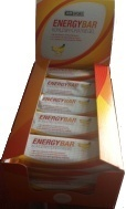 AMSPORT® Energy Bar: 25 x 60g Tray Kohlenhydratriegel -Cranberry-